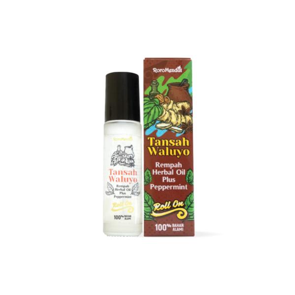 Tansah Waluyo Rempah Herbal Oil Plus Peppermint Roll On